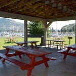 Port Marina Mark Picnic Shelter Interior