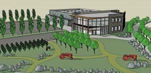 Rendering of Sheppard's development