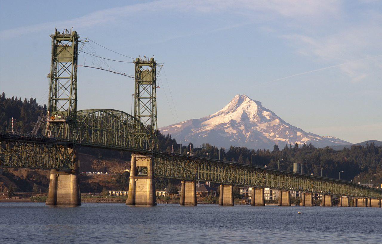 Progress made toward bridge replacement port of hood river for The hood river