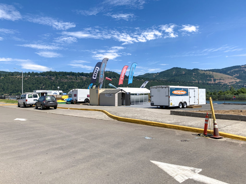 Event Site concessions up and running